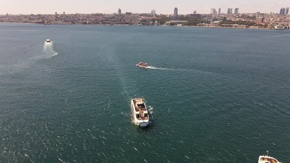 Thumbnail for Ferry Boats in Bosphorus Istanbul