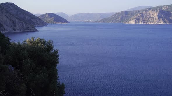 Thumbnail for Fascinating Mountain View Of The Aegean Sea 3.