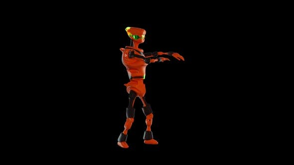 Thumbnail for Robot Dance VJ Loop