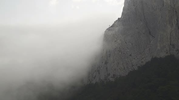 Thumbnail for Majestical Mountains in Clouds, and Dramatic Fog
