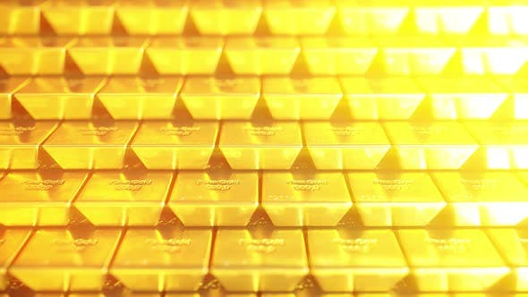 Thumbnail for Stack of Gold Bars or Bullions