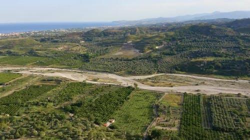 Calabria Torrent near the Sea