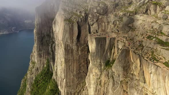 Thumbnail for Pulpit Rock Preikestolen Beautiful Nature Norway