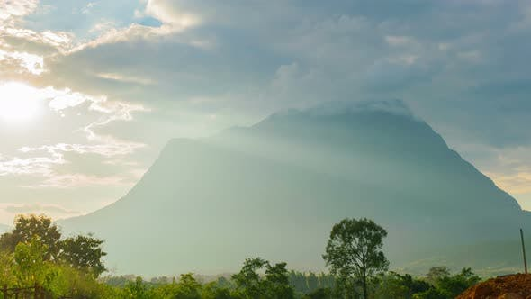 Mountain And Sunshine