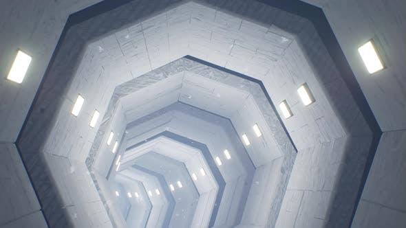 Snow Tunnel 4K