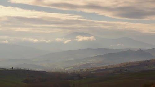 Morning Tuscany