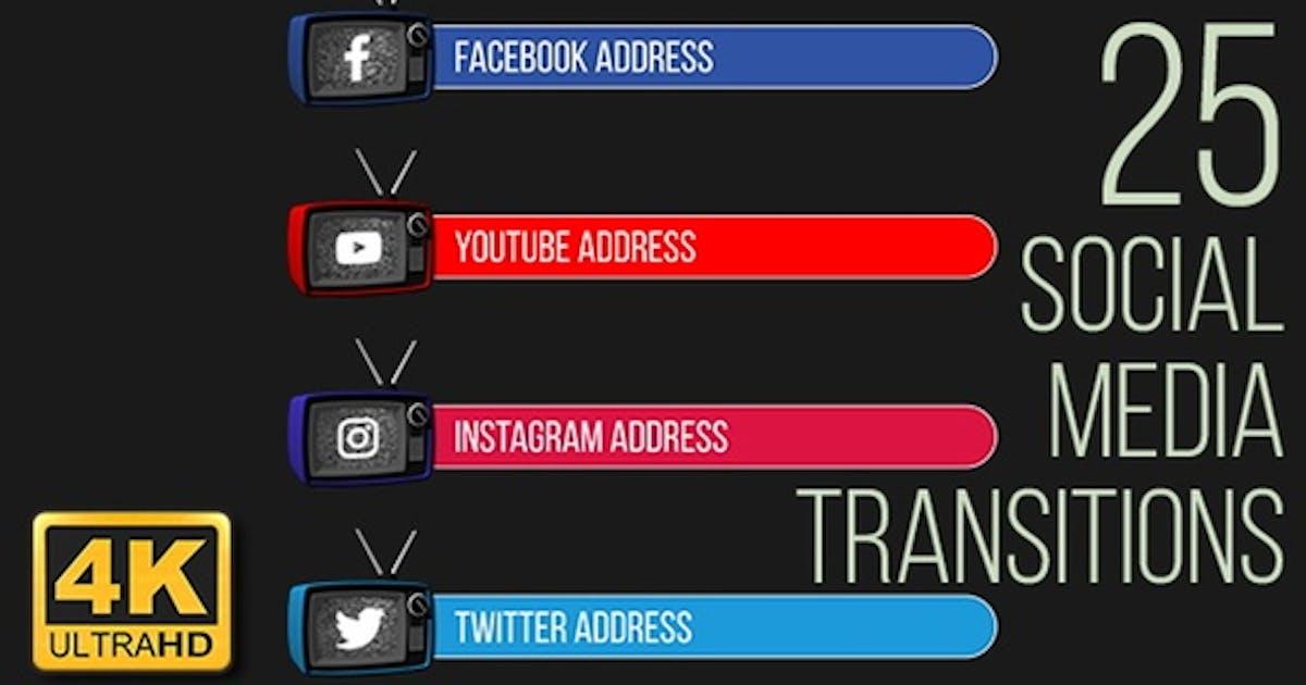 TV Social Media Lower Thirds (4K)