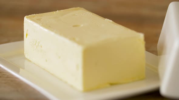 Thumbnail for Close Up of Butter on Wooden Table