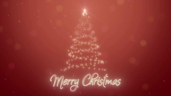 Merry Christmas 2021 Neon Animation Feliz Navidad on Spanish 3d Motion Design for New Year Holidays