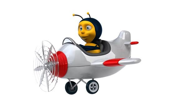 Thumbnail for Bee in a plane