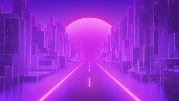 Thumbnail for Digital Sunset Loop