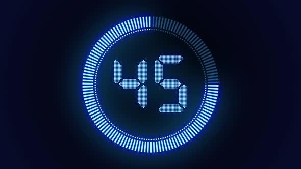 Digital Stopwatch Countdown