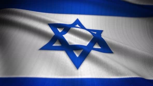 Thumbnail for Israel Flag Seamless Loop