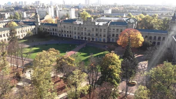 Thumbnail for Kyiv Polytechnic Institute. Aerial View. Kyiv. Ukraine.