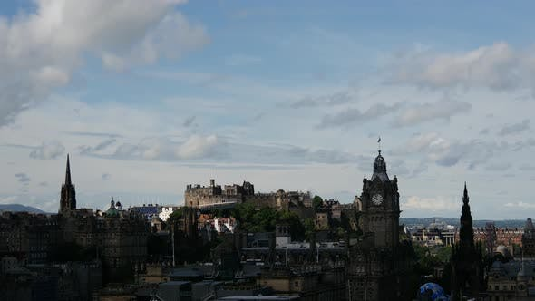 Thumbnail for Time lapse of the view over Edinburgh