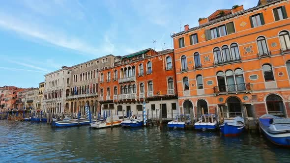 Thumbnail for View of Venice From a Boat in Grand Canal, Italy