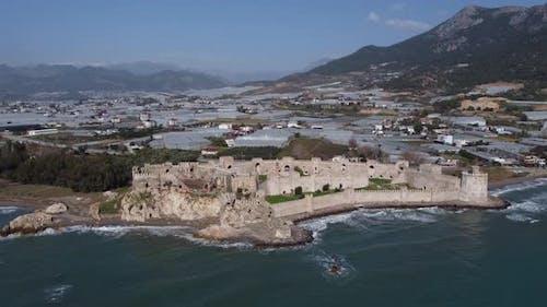 Medieval Roman Empire Mamure Castle