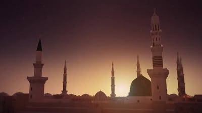 Al Masjid an Nabawi 3d mosque FHD Camera 09