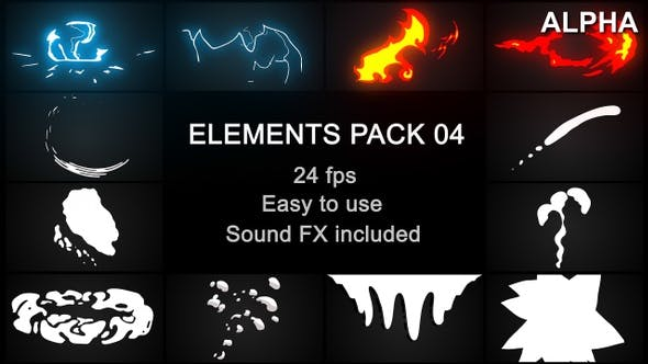 Thumbnail for Flash FX Elements Pack 04