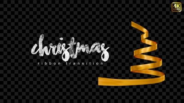 Thumbnail for Christmas Ribbons Transitions