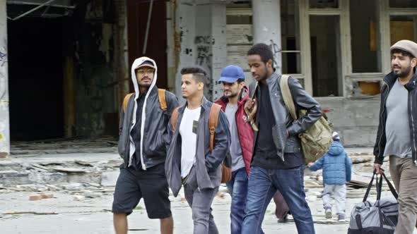 Thumbnail for Arabic Refugees Walking