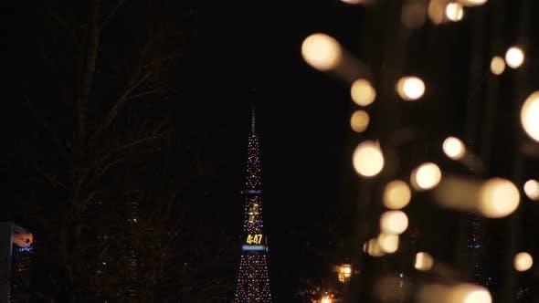 Thumbnail for Christmas Festival Light At Night