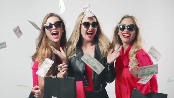 Thumbnail for Black Friday Women Money Fall