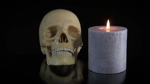 Ritual der menschlichen Knochen.