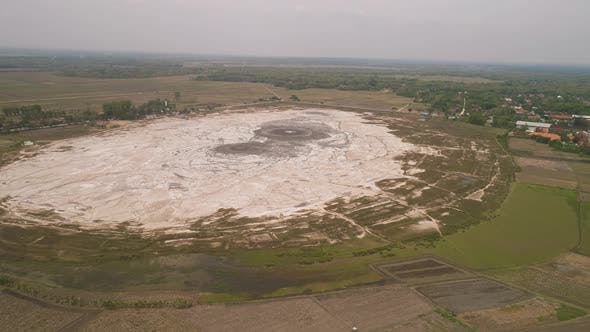 Cover Image for Mud Volcano Bledug Kuwu, Indonesia