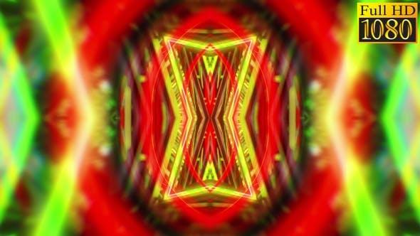 Abstract Kaleidoscope Vj Loops V17