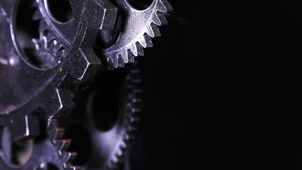 Thumbnail for Abstract Grunge Industrial Clock Gears