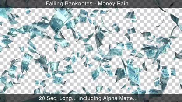 Money Rain Brazilian Reals