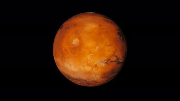4K Planet Mars