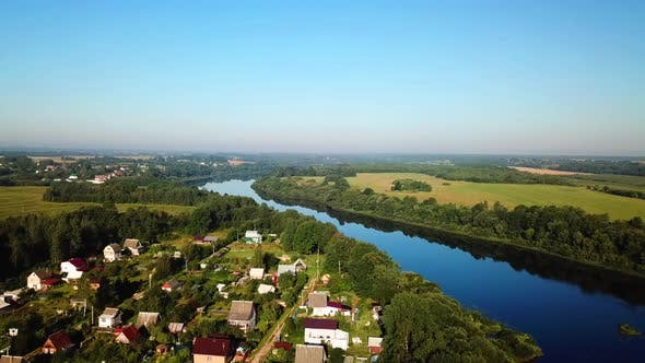 Thumbnail for Western Dvina River And Summer Cottages 03