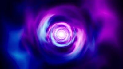 Neon Energy Effect Loop Background 4K