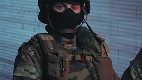Portrait of SWAT Officer