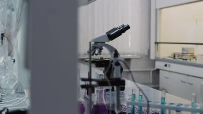 Chemistry Lab with Equipment
