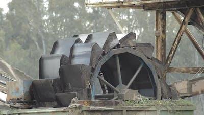 Old Industrial Ferris Wheel
