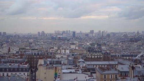Panorama Of The City Of Paris