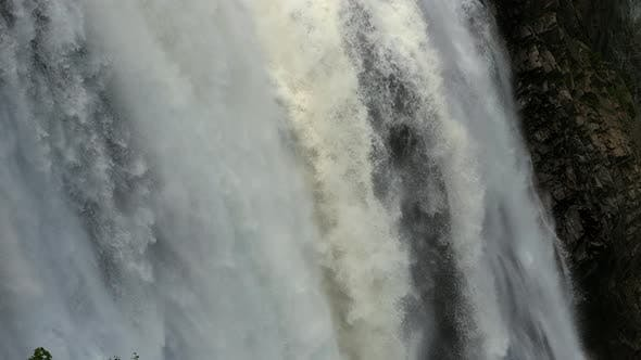 Thumbnail for Falling Water of the Waterfall.