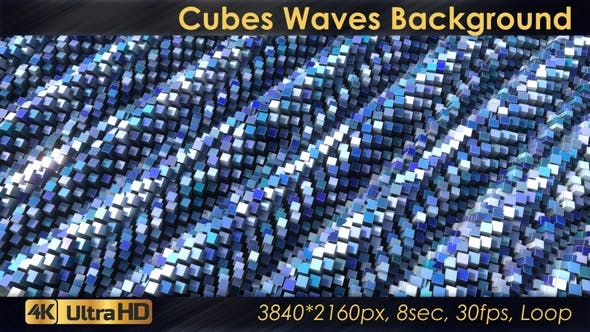 Thumbnail for Waves Of Blue Cubes