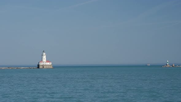Thumbnail for Light house at the Chicago Navy Pier