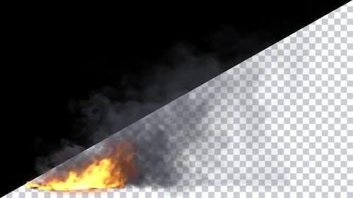 Blazing Fire Loop