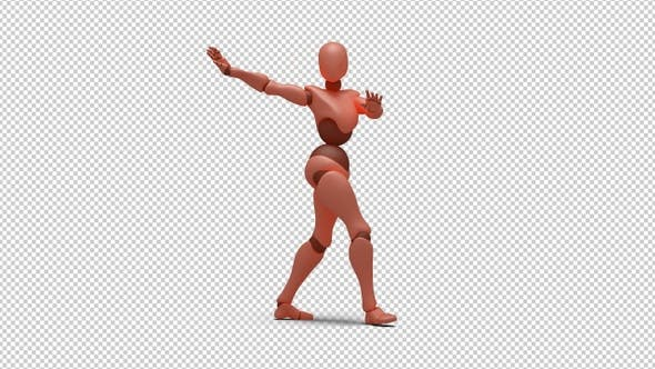 Bot Woman with Dancing Samba