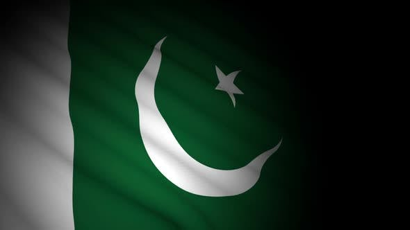 Thumbnail for Pakistan Flag Blowing in Wind