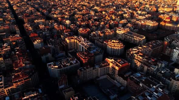 Thumbnail for A Top View of a Multi Storey Residential Building, Barcelona