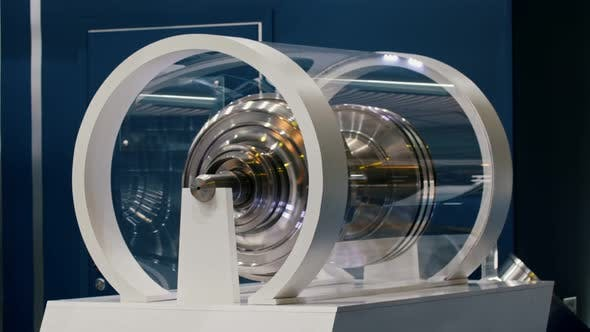 Thumbnail for Large Centrifuge in the Glass Box - Aircraft Technology Exhibition
