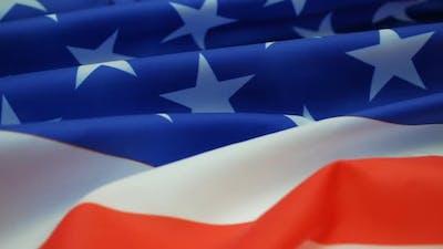 Close Up USA Flag