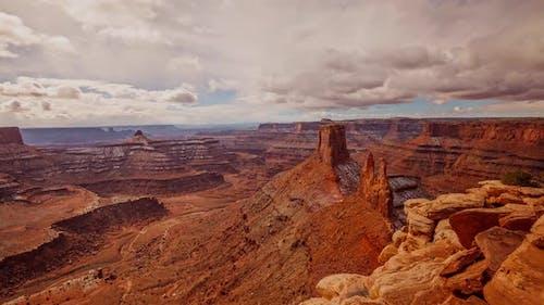 Cloud Time Lapse Canyons Utah Landscape