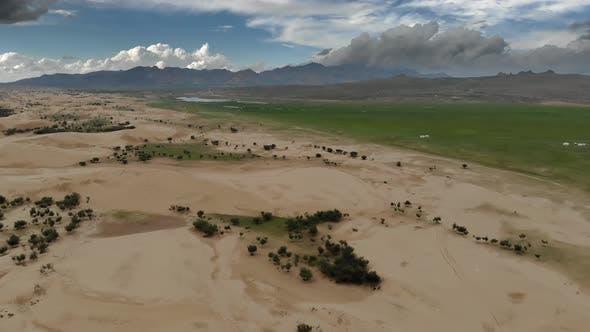 Elsen Tasarkhai Mongolia Desert